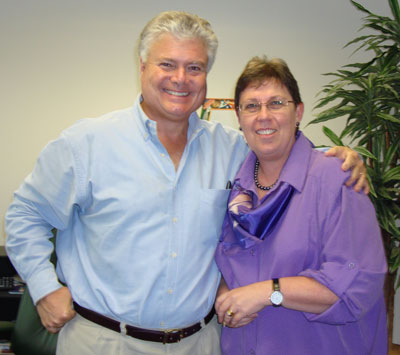 Dr Edward Hallowell and Karen Gosling