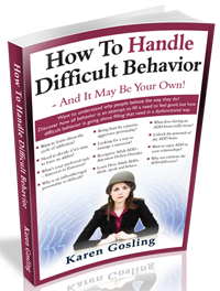 how to handle difficult behavior
